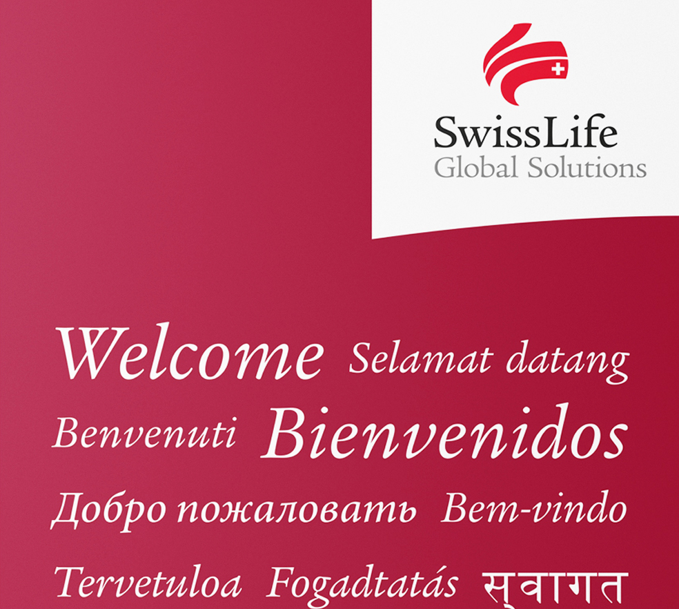 Swiss Life Global Solutions – Roll-Up Display